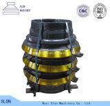 Qualität Sandvik CS420 konkav und Umhang-Kegel-Zerkleinerungsmaschine-Teile