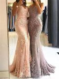 شريط [بروم] حزب ثوب [مرميد] حكيم عاج أرجوانيّة زفافيّ مساء ثوب [إ15120]