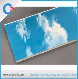 Ciel bleu 25cm estampage à chaud du panneau de PVC PVC Panneau mural de plafond