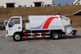 Caminhão do compressor do lixo de China usado para a coleção e o transporte de lixo
