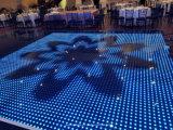 Parte superior do mundo que vende o diodo emissor de luz portátil magro super Dance Floor do partido do disco do casamento