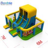 Saltar Bouncer castillo inflable con doble Combo gigante de diapositivas