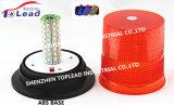 Lente 12-48V PC lâmpadas espiral lâmpadas de luz de advertência de Strobe para carros