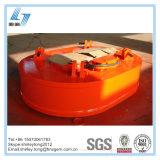 Type ovale électro-aimant de levage de grue pour les rebuts de levage
