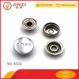 Aduana de los accesorios de la ropa de la calidad su botón del metal de la insignia de la marca de fábrica