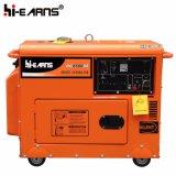 gruppo elettrogeno diesel silenzioso di colore rosso 4kw (DG5500SE)