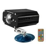 Controle de som IP20 Fase LED RGBW DJ Discoteca Luz efeito