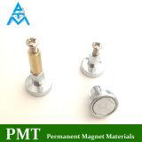 Magnete del POT di N38m D25 NdFeB con il materiale magnetico del neodimio