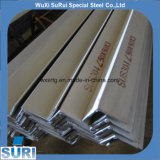 Cornière d'acier inoxydable de SUS201/208/304/316/316L 10mm