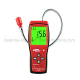 大きいLCD表示および温度の測定のガスの漏出探知器のガスのモニタAs8800Aが付いている携帯用可燃性ガスの探知器