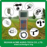 Instrumento agrícola inteligente del monitor del tiempo