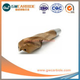 HRC45 Tipo 2*6*4*L50*3t* Longitud 50-150mm brocas de torsión
