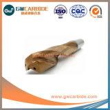 HRC55 de Bits van de Boor van de Draai van het Carbide van het wolfram