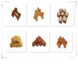 De Snack van de Kat van de Plakken van de Vorm van het Been van de Kip van de Reeks van de Puree van het vlees