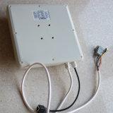 RS232 RS485 Lector RFID UHF integrado Wiegand con 8dBi Antena UHF