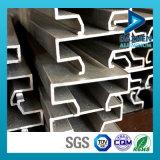 Perfil de aluminio para el pdf de Slatwall de la visualización de la pieza inserta con diversos colores modificados para requisitos particulares