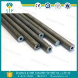 Staven de van uitstekende kwaliteit van het Carbide met Één Recht Gat van het Koelmiddel