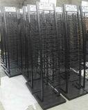 Cremagliera di visualizzazione moderna su ordinazione delle mattonelle di ceramica del metallo nero moderno del pavimento