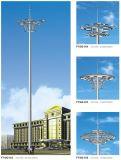 35m Круглые лампы высокой короны мачты с электрической системой подъема