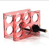 Houder van de Wijn van het Rek van de Wijn van de manier de Acryl Korte voor de Decoratie van de Zaal