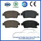 Aucun bruit de haute résistance à la température Semi voiture métalliques la plaquette de frein D990