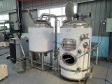 Equipo negro de la fabricación de la cerveza/el tanque de acero inoxidable