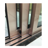 아파트 3 궤도 알루미늄 유리 미닫이 문