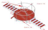 Venda a quente fase círculo de alumínio