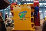O triturador de maxila com hidráulico ajusta o sistema e a carcaça de rolamento fina do petróleo