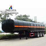 3 ejes 50000litros asfalto camión con remolque cisterna Semi chasis