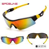 Пыленепроницаемость круглые очки с УФ защитой солнечные очки для спортивных мероприятий на улице