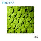 Panneau sain décoratif amical de mur de l'épreuve 3D de matériaux de construction d'Eco