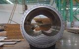 El hierro gris parte el bastidor de arena de la resina pieza grande del hierro del acero de molde