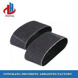 L'alumine calcinée noir de l'eau les courroies de ponçage de papier abrasif pour le bois