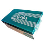 Напечатанные таможней коробки ботинка Fp600088 бумаги картона