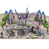Kaiqi子供の遊園地(KQ60130A)のための上昇シリーズ屋外の運動場