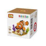 Da escola ideal do jogo dos miúdos dos brinquedos dos desenhos animados do ABS de Loz Eco bloco de apartamentos inteligente do jogo