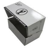 Do camarão ondulado do cartão da embalagem da alta qualidade caixa de papel com impressão de cor