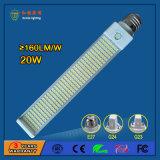 12W 1500lm G23/G24 LED 26W Osram 에너지 절약 램프를 대체하는 수평한 빛 PL 가벼운 PLC 램프