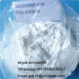 Propionato sin procesar CAS 57-85-2 de la testosterona del polvo de los esteroides inyectables para el Bodybuilding