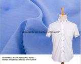 POPELIN-Hemd Shirting Gewebe des 50% Polyester-50% Bambus