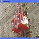 La construcción de elevador o grúa de construcción/Material de la grúa