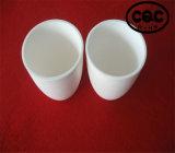 Crisol de cerámica del corindón del alúmina de la temperatura alta el 99%