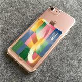 iPhone 7을%s 카드 구멍을%s 가진 연약한 TPU Anti-Shock 케이스