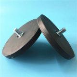 Магнитов магнитов неодимия прочность крепления резиновый Coated круглых черных сильная для приспособления Horm