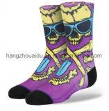 Launischer Entwurf populär für die junge Mann-Kleid-Socke