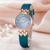 Correa de cuero reloj fábrica OEM ODM Moda Personalizar Watch (Wy-121C)