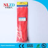 Plástico autoblocante lazos Zip