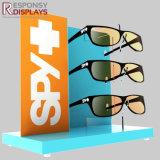 Bois de style simple Shopping Mall de lunettes de soleil d'affichage de compteur