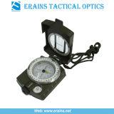 Bussola militare esterna e bussola dell'esercito della bussola di Lensatic del metallo (ES-OP-C02)